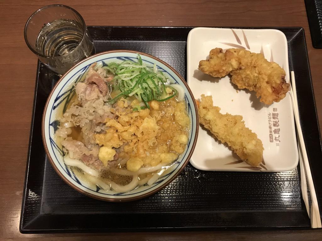 丸亀製麺 お得な丸亀ランチセット