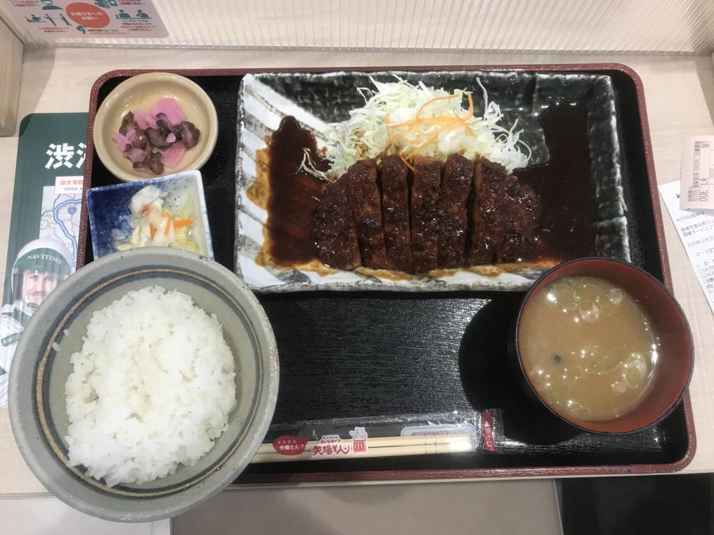 矢場とん ロース味噌カツ定食