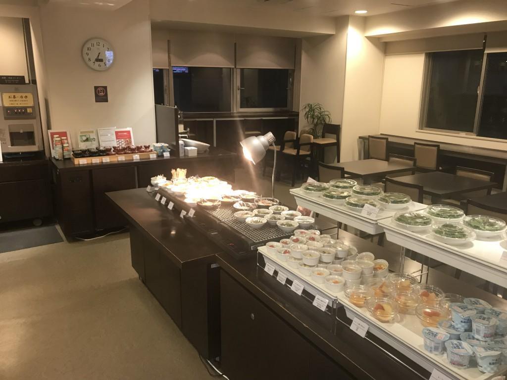 ドーミーイン三河安城 朝食の様子
