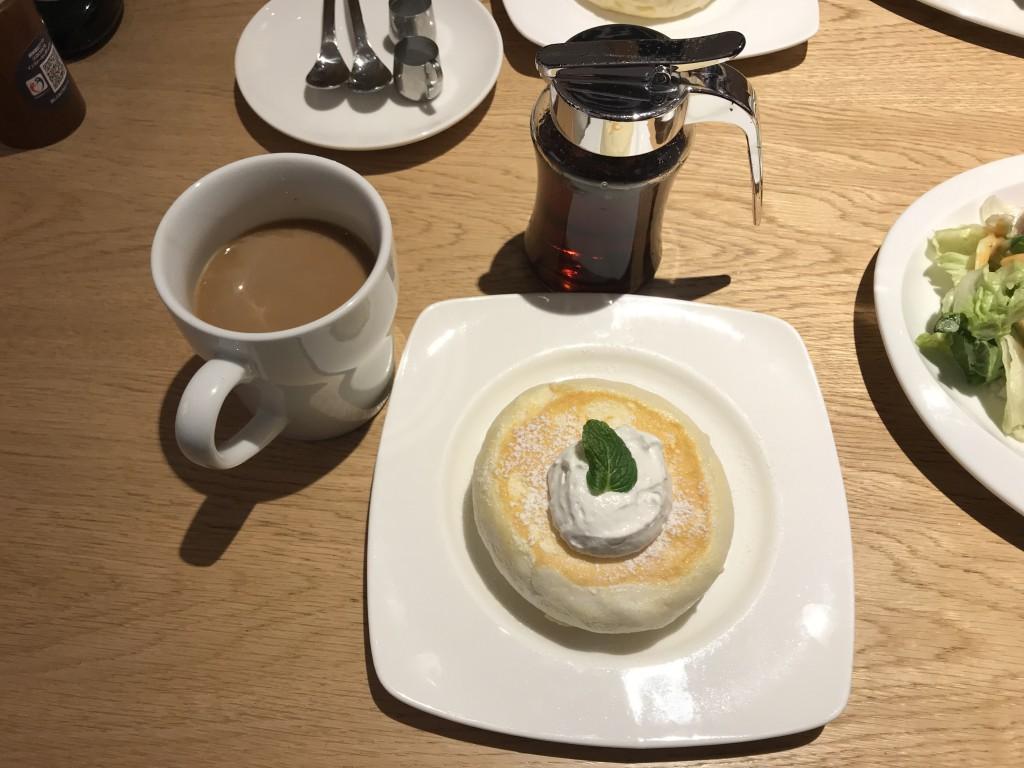 むさしの森珈琲 パンケーキ