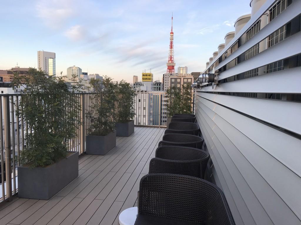 ベイホテル東京浜松町 屋上