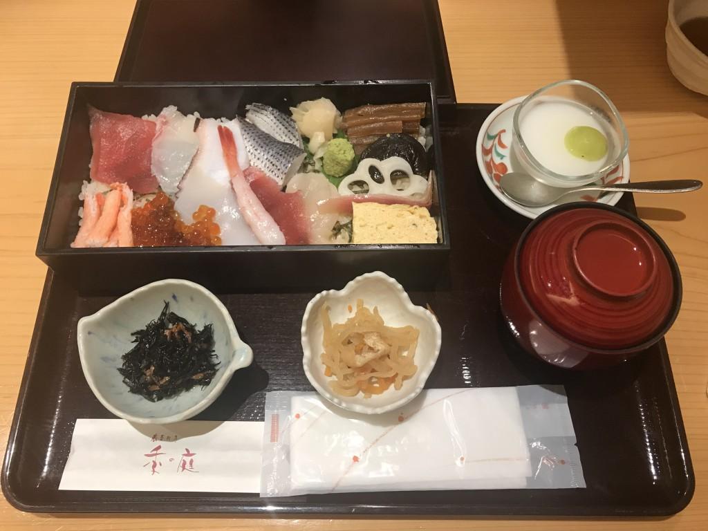 共立メンテナンス 株主食事券 ランチ ちらし寿司