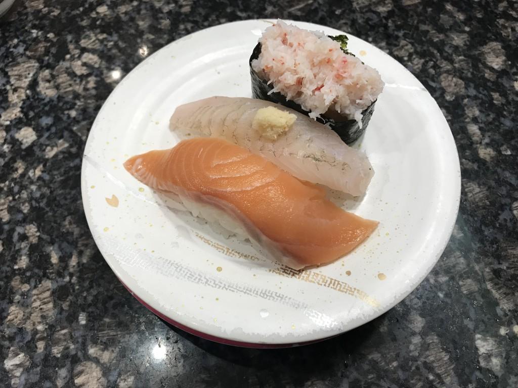 すかいらーく 魚屋路 秋の大北海道祭 三貫握り